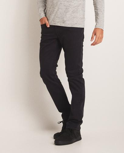 Fitted straight jeans